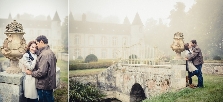 French castle couple shoot