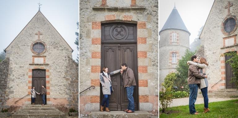 Wedding chapel in France