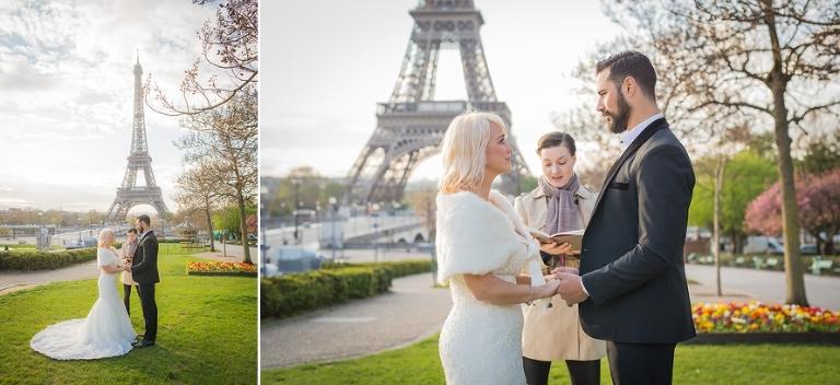 Eiffel Tower ceremony