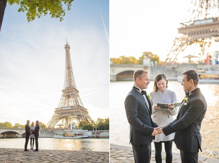 gay elopement ceremony