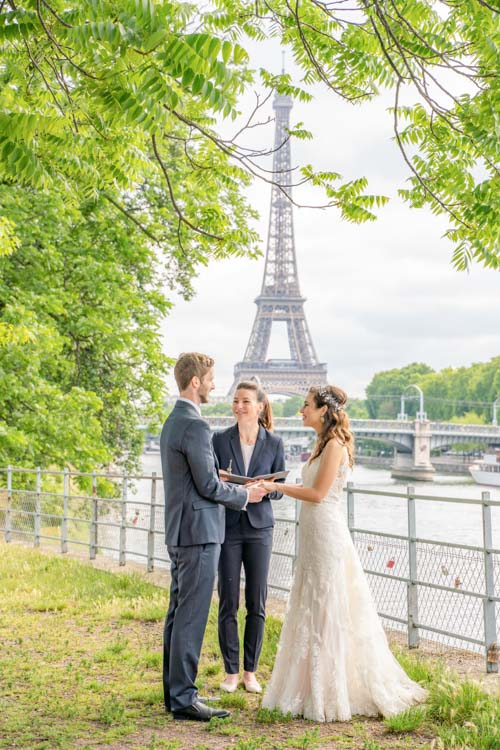 eiffel tower elope place ceremony celebrant