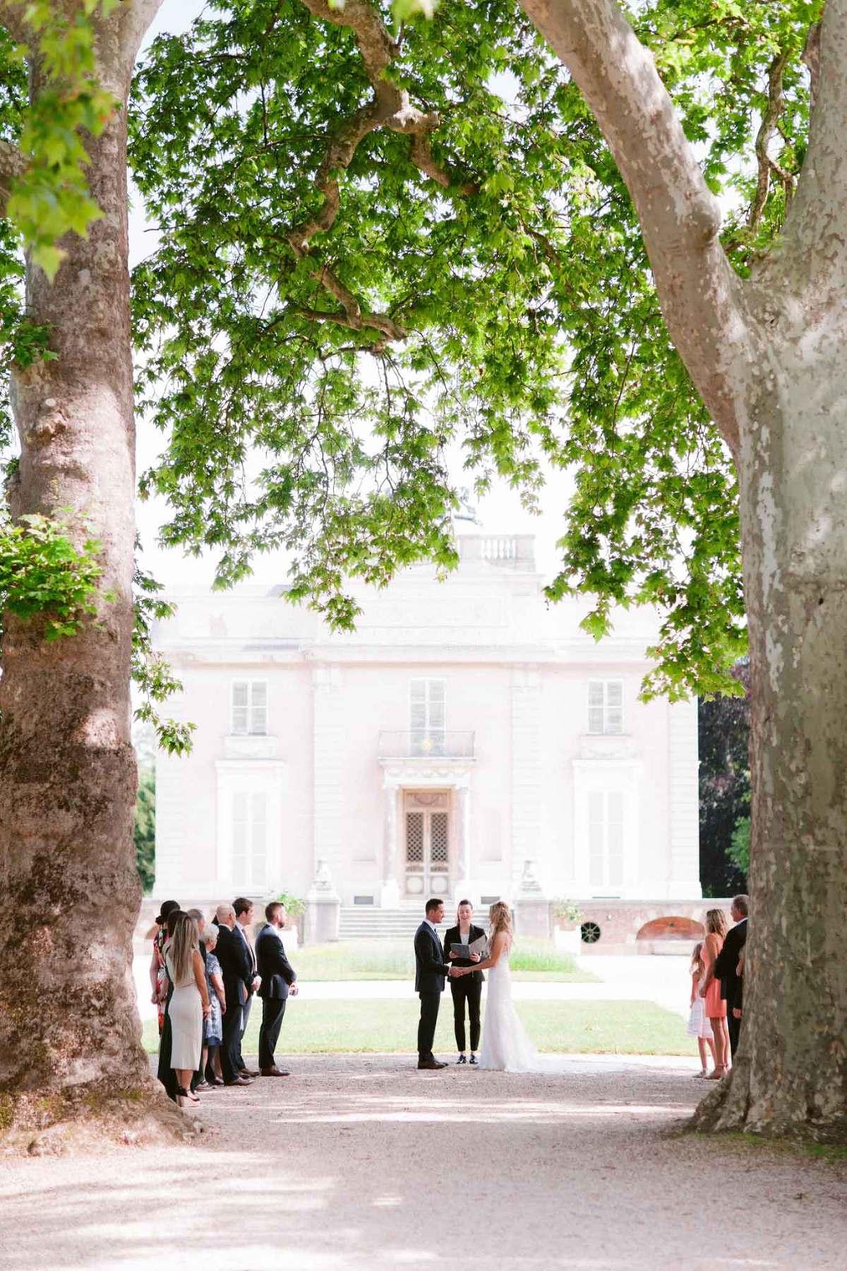 paris mansion wedding