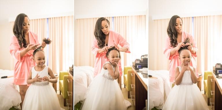 Paris bride daughter