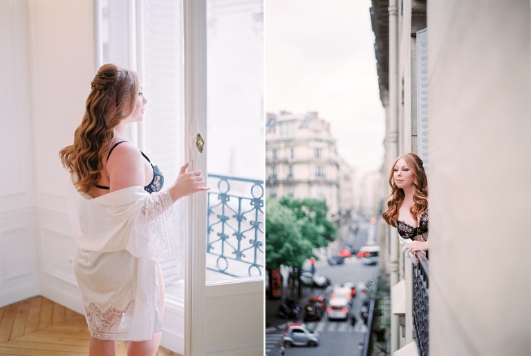 Paris boudoir shoot