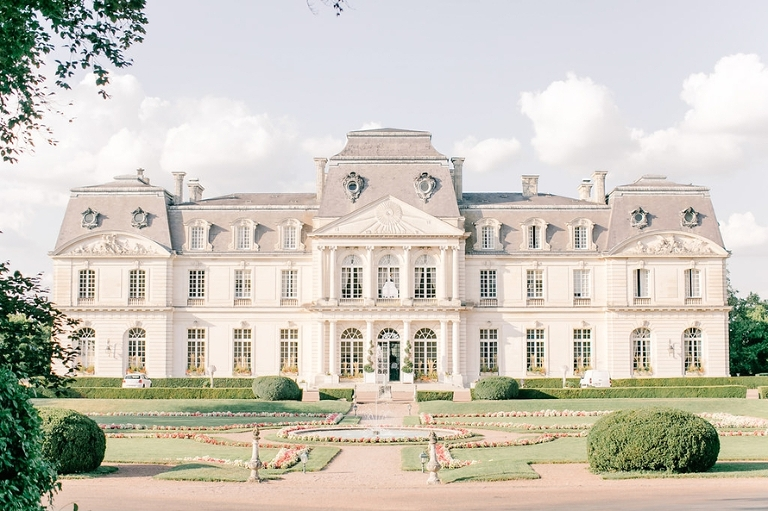 Getting married in France French chateau