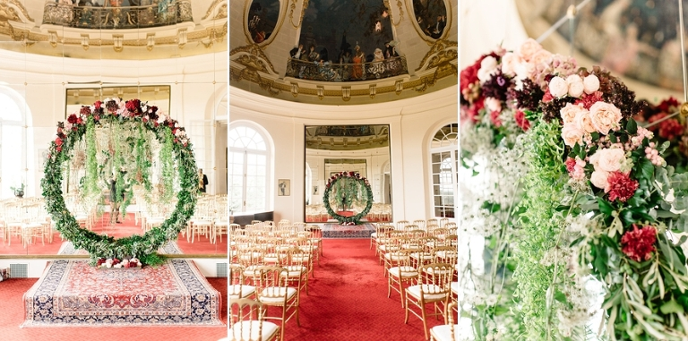 Getting married in France ceremony decoration