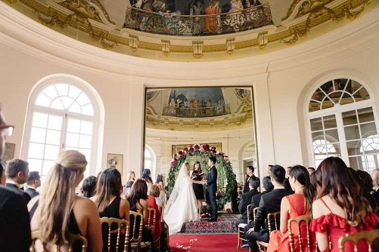Getting married in France wedding ceremony