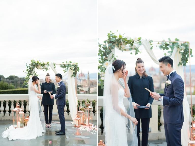 how to write wedding vows destination wedding italy
