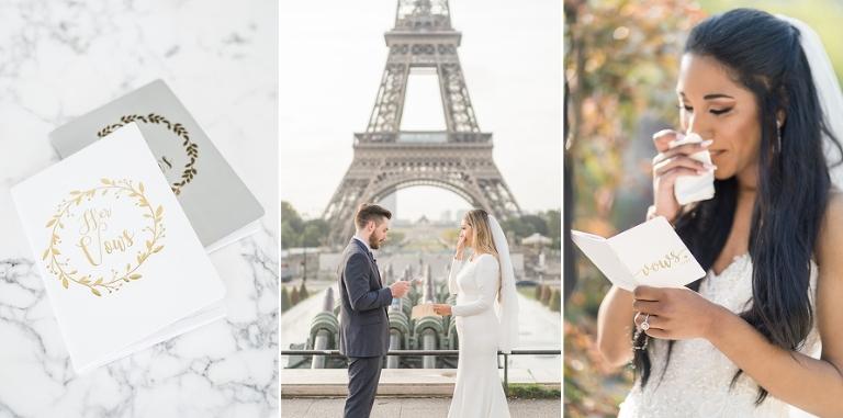how to write wedding vows paris wedding