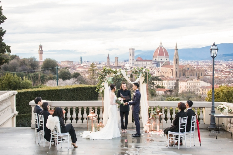 Destination wedding Europe Florence