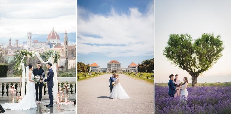 Destination wedding Europe