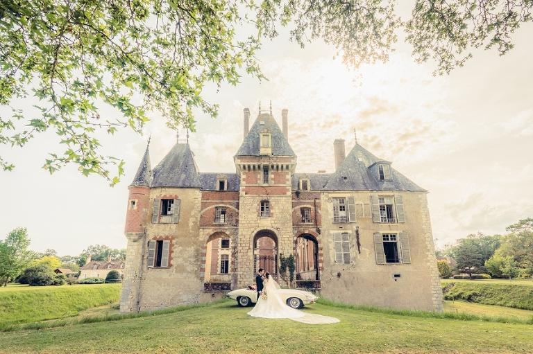 Dreamy chateau wedding