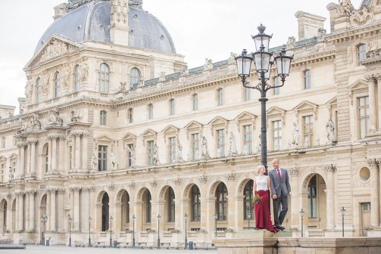 vow renewal in Paris