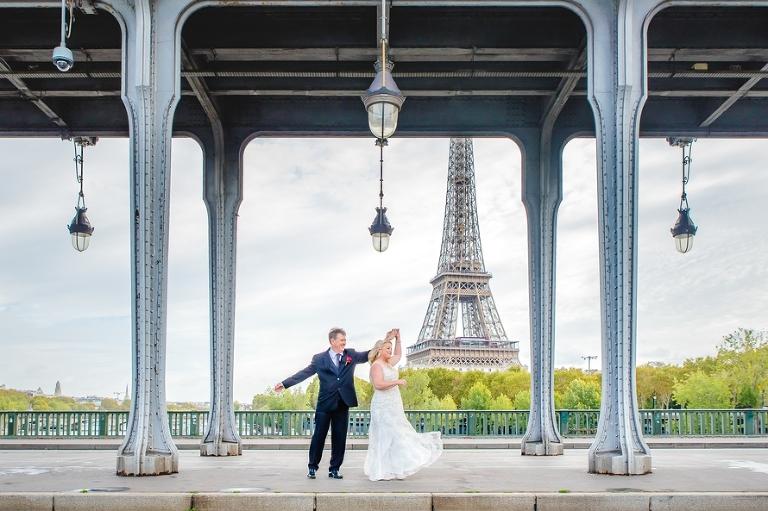 wedding anniversary in Paris