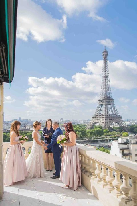 Shangri-La Paris wedding elopement