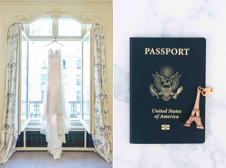 destination wedding elopement Paris
