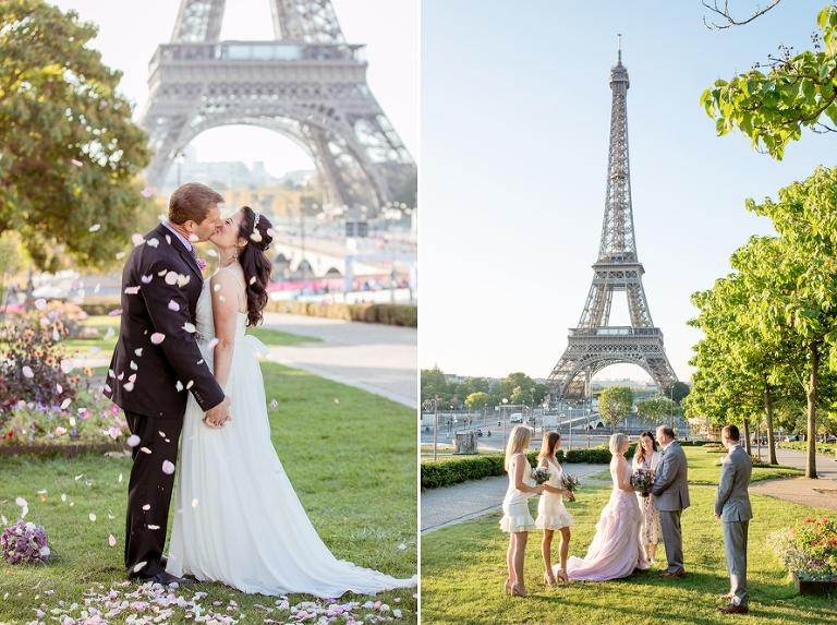 Eiffel Tower vow renewal