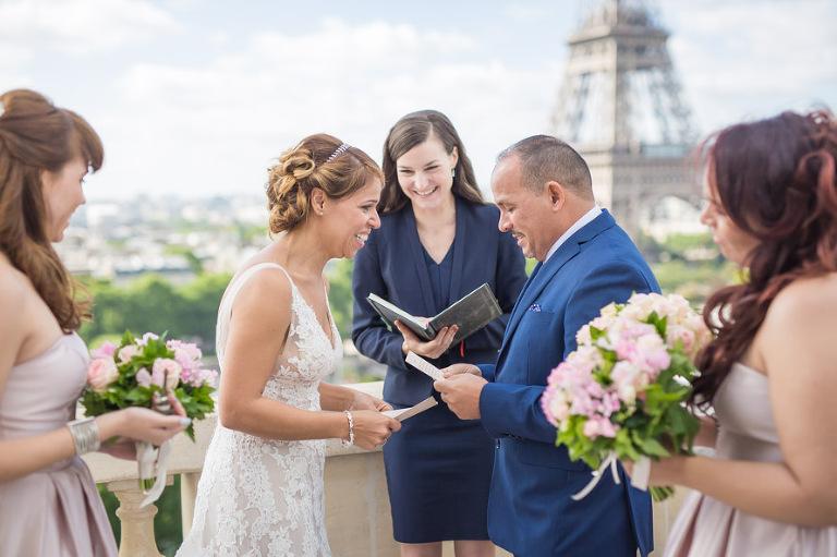 Shangri La Paris vow renwal