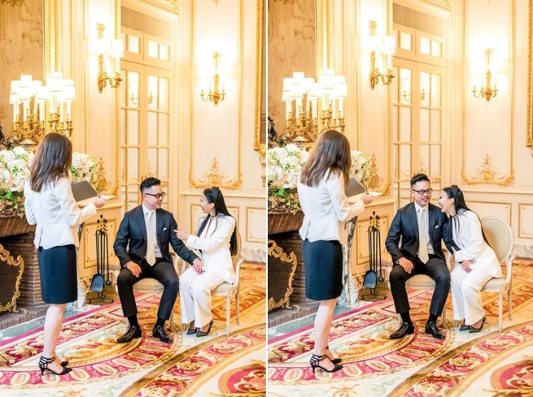 Ritz Paris elopement ceremony