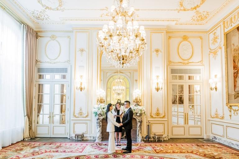 Ritz Paris wedding elopement