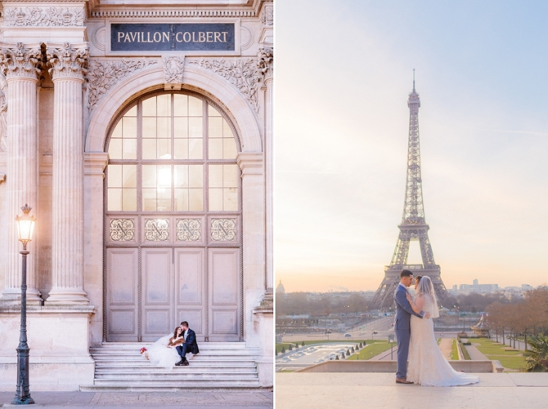 winter elopement paris