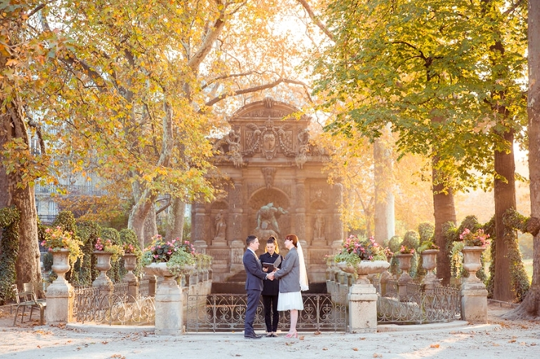 fall elopement medici fountains