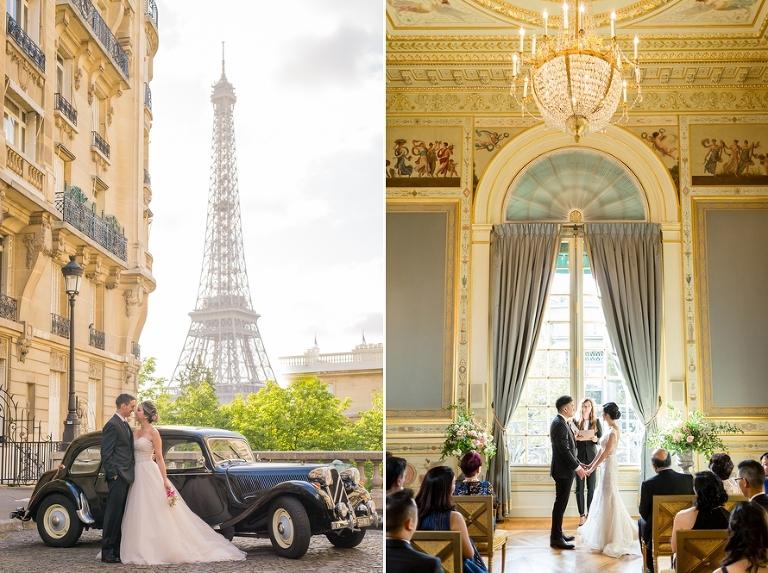 Paris elopement packages