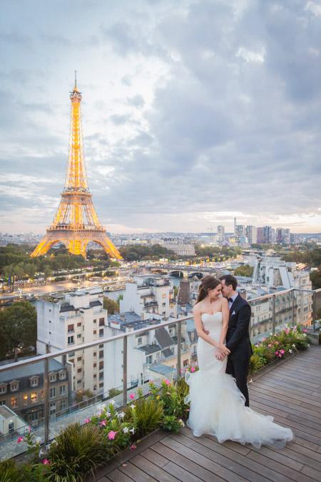 shangrila hotel paris wedding venue eiffel tower terrace