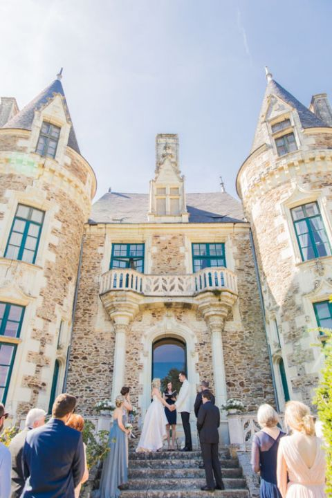 french chateau dream wedding