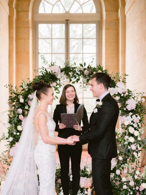 intimate wedding ceremony celebrant