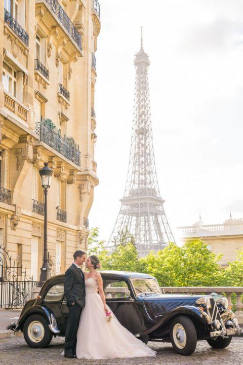 Eiffel Tower Paris elopement