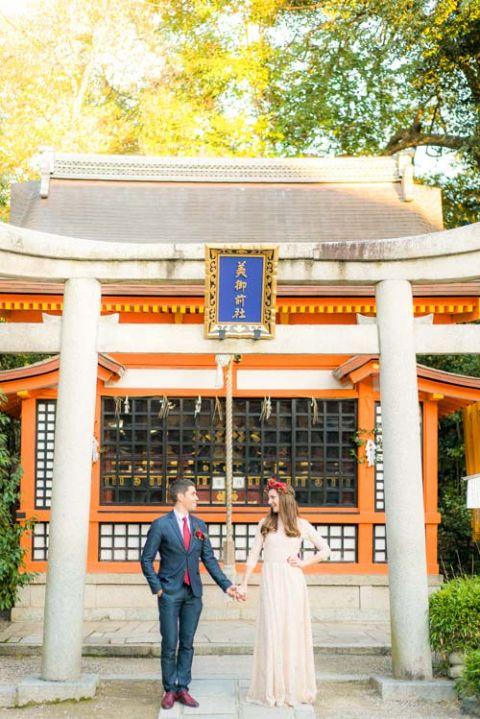 elope to Japan destiantion wedding elopement kyoto