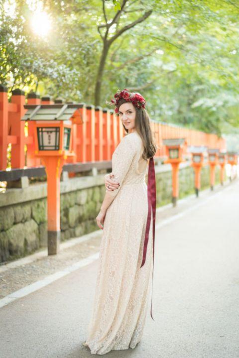 destiantion elopement wedding officiant japan kyoto