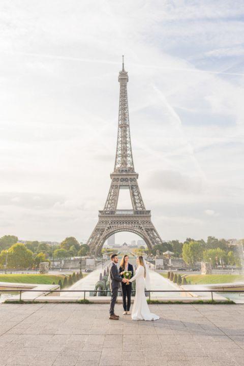 places elopement paris eiffel Tower