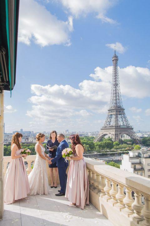 English speaking Paris celebrant