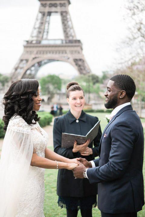 English speaking celebrant ceremony Paris