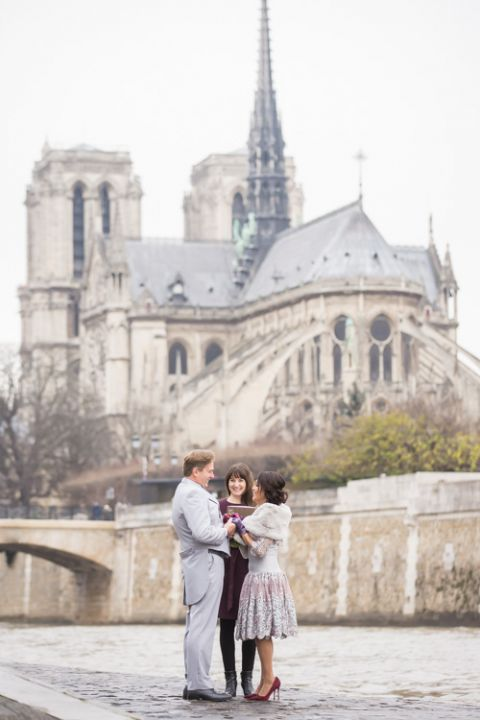 Paris vow renewal package